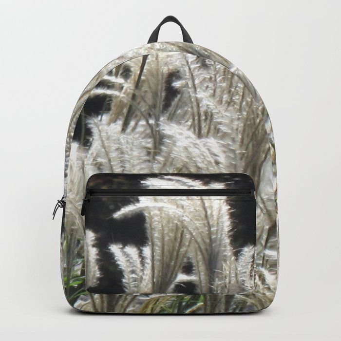 Silver Grass Plumes Backpack