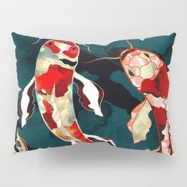 Metallic Koi Pillow Sham