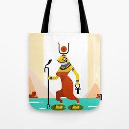 Heqet - Egyptian Goddess of Fertility Tote Bag