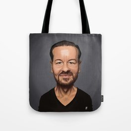 Celebrity Sunday ~ Ricky Gervais Tote Bag