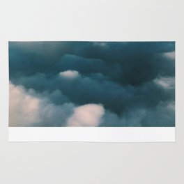 Blue Clouds Rug