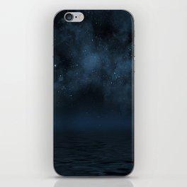 Universe & Ocean -   Space - Night Sky - Stars - Ocean - Night iPhone Skin