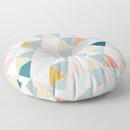 Modern Geometric Floor Pillow