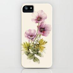 Geranium & Gardenmint iPhone (5, 5s) Slim Case