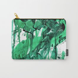 """Sea Monster"". Phthalo Green Series No 4. Carry-All Pouch"