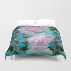 All Boundaries Are Conventions Duvet Cover