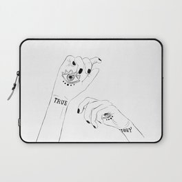 True Story - Daughter of smoke and bone.Laini Taylor Laptop Sleeve