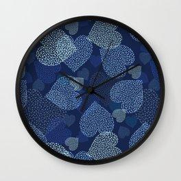 Hearts in hearts Wall Clock