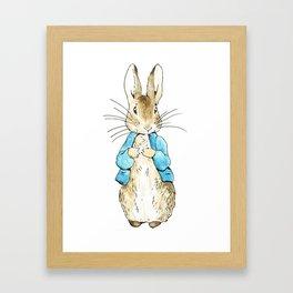 Peter Rabbit Framed Art Print