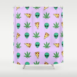 Trippy Pins Shower Curtain