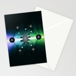 Neuromorphic Chip - Futuristic Technology Stationery Cards