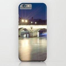 Bridges of Paris by Night iPhone 6s Slim Case