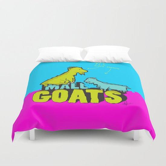 Mall Goats Duvet Cover
