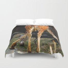Baby Giraffe Butt Duvet Cover