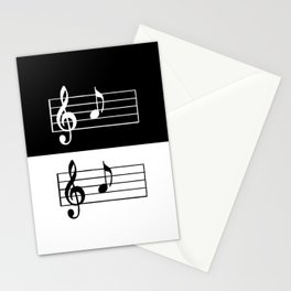 Music Art Stationery Cards