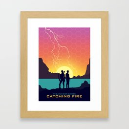 Catching Fire (Dawn Version) Framed Art Print