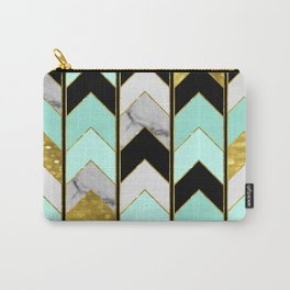Chevron Lights Carry-All Pouch