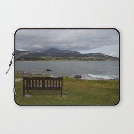 Bench on Isle of Arran Laptop Sleeve