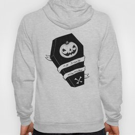 no treats, only tricks coffin Hoody