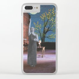 The Glorious Night Descends (II) Clear iPhone Case
