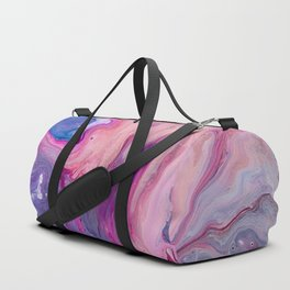 ultra violet marble fun Duffle Bag