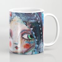 hippie Mugs featuring Hippie Circus by Dulcamara