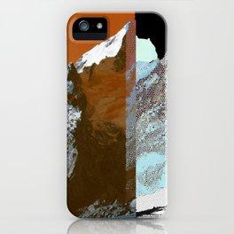 Twin Peak_fire&ice iPhone Case