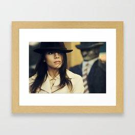 agent Framed Art Print