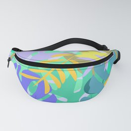 Soft tropical Fanny Pack