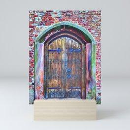 Knock Knock Mini Art Print