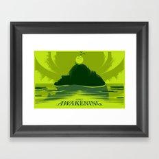 Link's Awakening (Open Edition) Framed Art Print