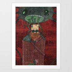 The Angler Art Print