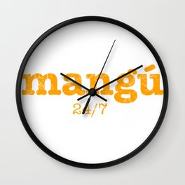 Mangú a cualquier hora Wall Clock