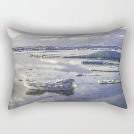 Glacial Lagoon 07 Rectangular Pillow