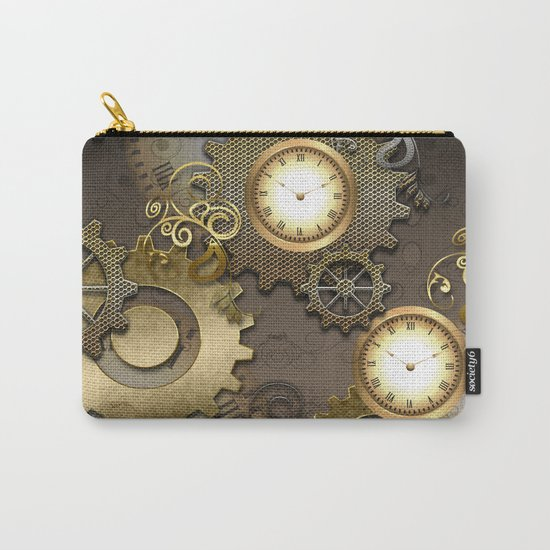 Abstract mechanical design Carry-All Pouch