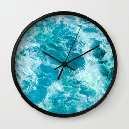 Sea Me Waving Wall Clock