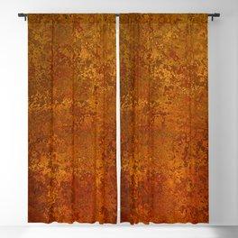 Vintage Copper Rust, Minimalist Art Blackout Curtain