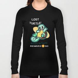 Lost Turtle- Reward Long Sleeve T-shirt