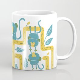 Monkeys Family Coffee Mug