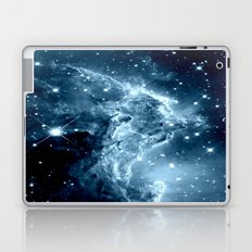 Ice Blue Galaxy : Monkey Head Nebula Laptop & iPad Skin