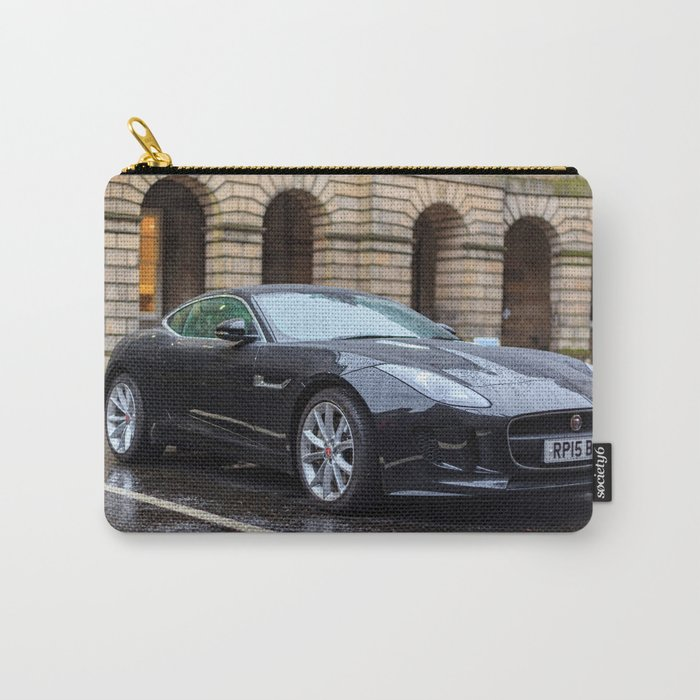 Jaguar in Edinburgh Carry-All Pouch