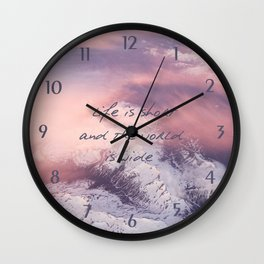 World is wide Wall Clock
