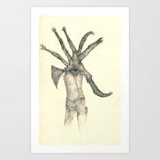 Unplanned Art Print