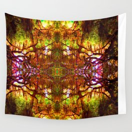 Tree of Life Abstract Wall Tapestry