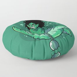 Mermaid's Punishment Floor Pillow