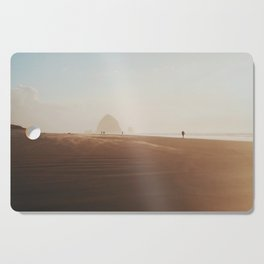 Golden hour at Cannon Beach Cutting Board