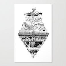 Olympe   Enfer Canvas Print