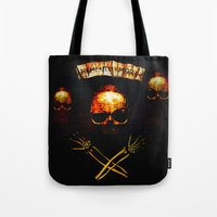 crane Tote Bags featuring Crane by Ganech joe