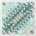 Turquoise Tile Pattern by perkinsdesigns