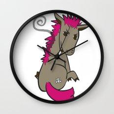 Punk Ass Wall Clock
